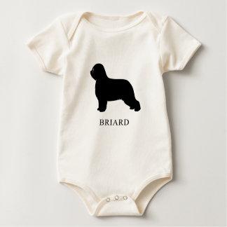 Briard Baby Strampler