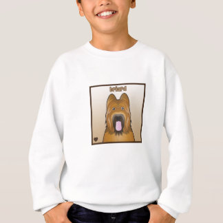 Briard Cartoon Sweatshirt