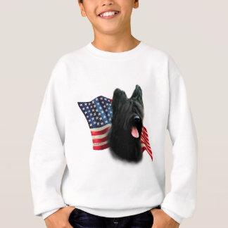 Briard Flagge Sweatshirt