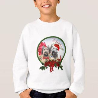 """Briard """"frohe Weihnacht-"""" Kleid"""