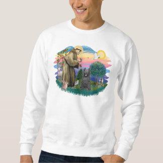 Briard (Schwarzes) Sweatshirt