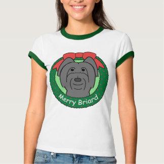 Briard Weihnachten T-Shirt
