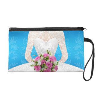 Bridal blue shower light wristlet