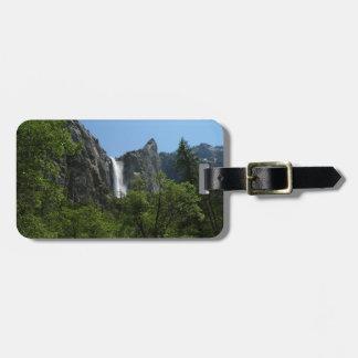 Bridalveil fällt an Yosemite Nationalpark Gepäckanhänger