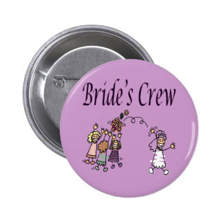 brides crew anstecknadel