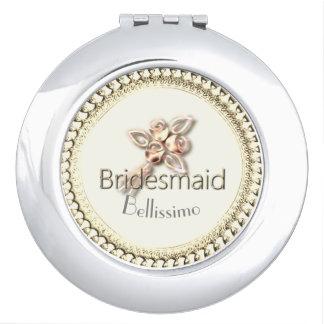 Bridesmaid_ROSE_GOLD-Monogram-Wedding-Favor Schminkspiegel