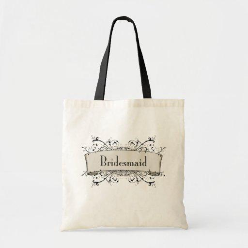 *Bridesmaid Leinentasche