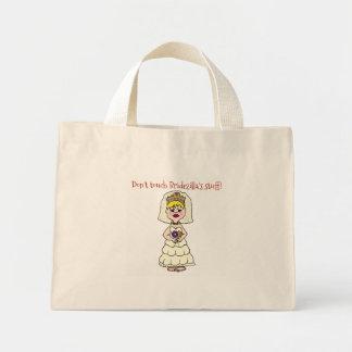 Bridezilla Taschen-Tasche Mini Stoffbeutel