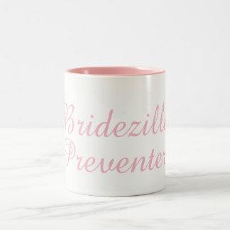 Bridezilla Verhinderer Zwei-Ton 11 Zweifarbige Tasse