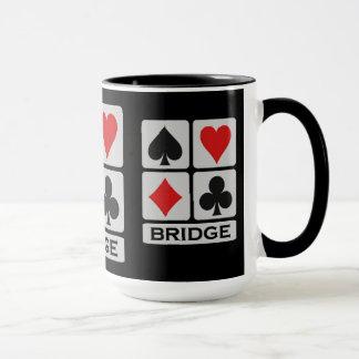 Bridge-Spieler Tasse - wählen Sie Art u. Farbe