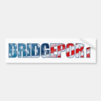 Bridgeport Autoaufkleber