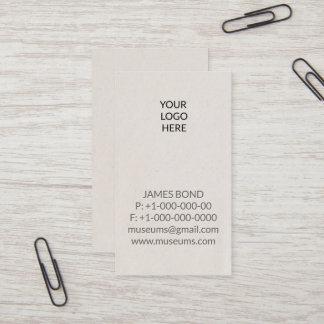Briefbeschwerer Ihre Logo-einfache Visitenkarte