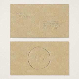 Briefbeschwerer-persönliche Visitenkarte