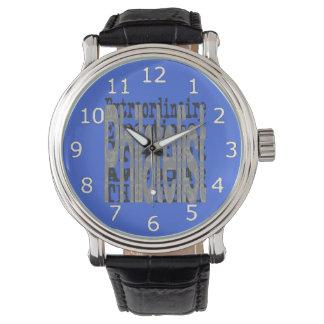 Briefmarkensammler Extraordinaire Uhr