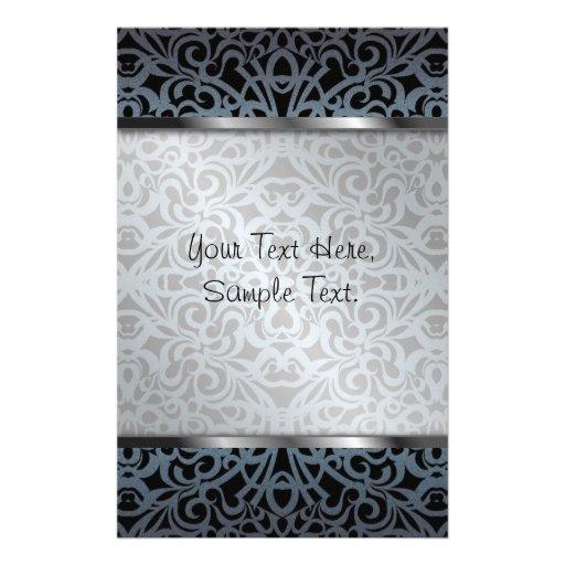 briefpapier barocke art inspiration individuelles druckpapier zazzle. Black Bedroom Furniture Sets. Home Design Ideas