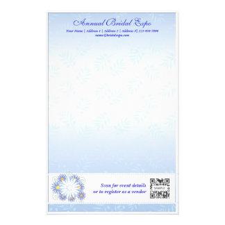 Briefpapier-Schablonen-Brautausstellung Büropapiere