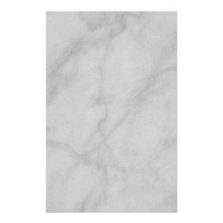 Briefpapier--Schwarzer u. weißer Marmor Briefpapier