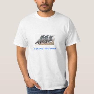 brieftauben auf dem Dach T-Shirt
