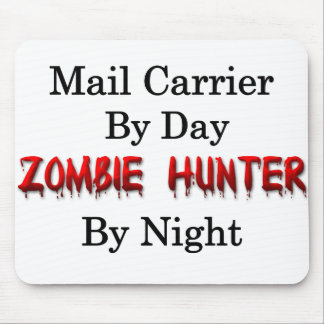 Briefträger-/Zombie-Jäger Mauspads