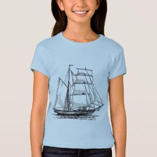 Brigantine-Schiff T Shirts