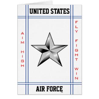 Brigg-GEN des Luftwaffen-Brigadegeneral-O-7 Karte