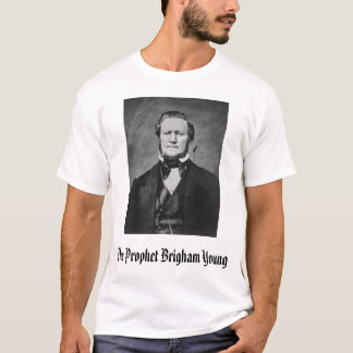 Brigham Young, der Prophet Brigham Young T-Shirt