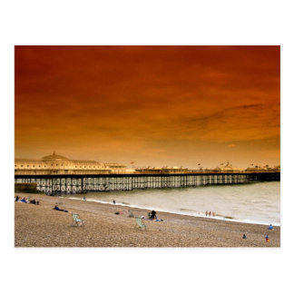 Brighton-Pier England Postkarten