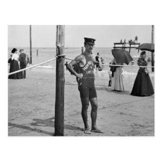 Brighton-Strand-Leibwächter, frühe 1900s Postkarte