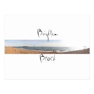 Brighton-Strand Postkarte