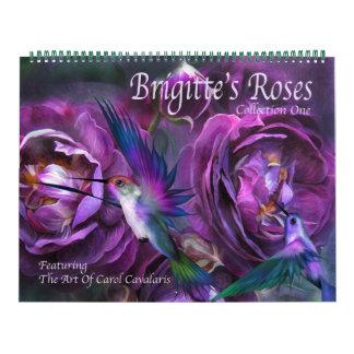Brigittes Rosen-Kunst-Kalender Kalender