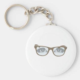 Brille Augen glasses eyes Schlüsselanhänger