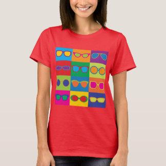 Brillen-Schachbrett T-Shirt
