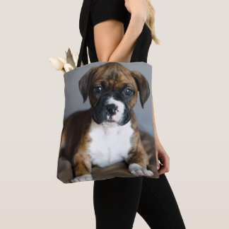 Brindle Boxer-Welpe Tasche