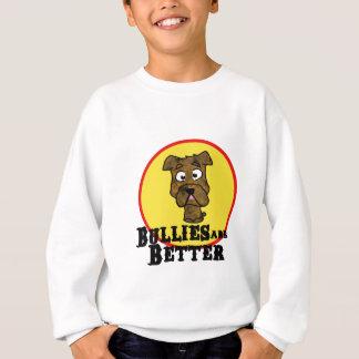Brindle Bulldogge/Mastif (Tyranne sind besser) Sweatshirt