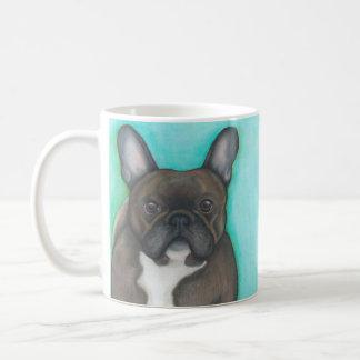 """Brindle französische Bulldogge """"erhielt Frenchie?"""" Kaffeetasse"""