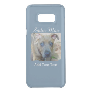 Brindle Pitbull-Welpe durch Shirley Taylor Get Uncommon Samsung Galaxy S8 Plus Hülle