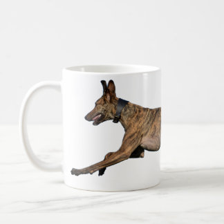 Brindled Lurcher-Windhund Kaffeetasse