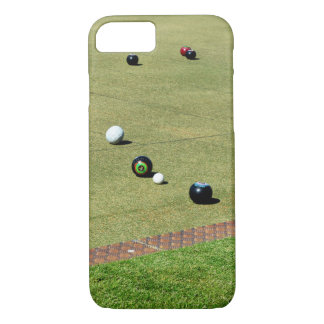 Bring_It, _Lawn_Bowls, _Barely dort iPhone 7 Fall iPhone 8/7 Hülle