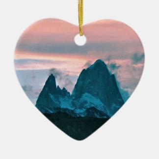 Bringen Sie Fitz Roy, Patagonia, Argentinien an Keramik Ornament