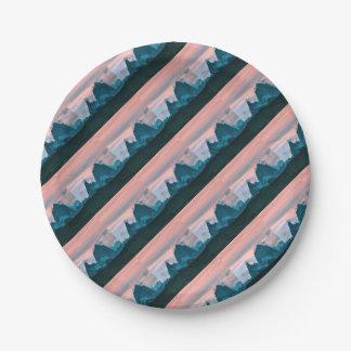 Bringen Sie Fitz Roy, Patagonia, Argentinien an Pappteller