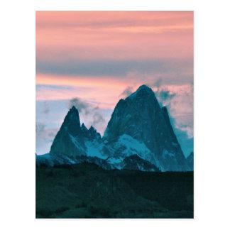 Bringen Sie Fitz Roy, Patagonia, Argentinien an Postkarte