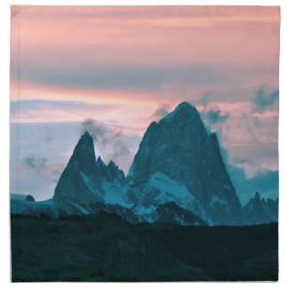 Bringen Sie Fitz Roy, Patagonia, Argentinien an Stoffserviette