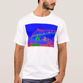 BRISBANE-GESCHOSS-BRÜCKEN-AUSTRALIEN-KUNST-EFFEKTE T-Shirt