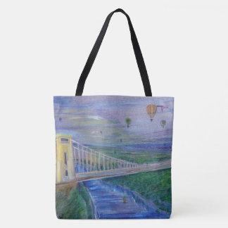 Bristol - Clifton Hängebrücke Tasche