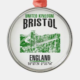 Bristol Silbernes Ornament