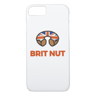 Brite-Nuss-Krapfen-Kasten iPhone 8/7 Hülle