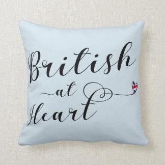 Briten am Herz-Wurfs-Kissen, Großbritannien Kissen