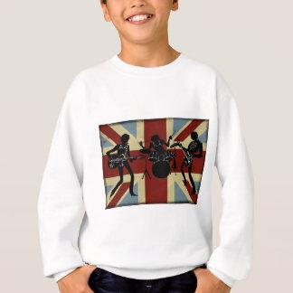 Briten-Band, Rockgruppe, englisches Trio Sweatshirt