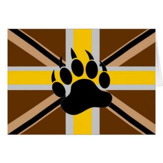 Briten-Bärn-Stolz-Flagge Karte