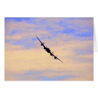 Briten-Bomber des Lancaster-Weltkrieg-2 Karte
